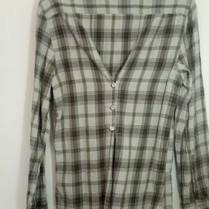 Hornytoad  Plaid Soft  Cotton Long Sleeved size L
